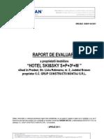Raport Hotel SKISKY