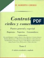 33726330 Ghersi Carlos a Contratos Civiles y Comer CIA Les Tomo II