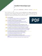 Cours Transfert thermique par conduction.doc