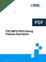4.4.3.2 GU_ZTE UMTS OPEX Saving Features Description