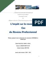 44416203 l Impot Sur Le Revenu Cas Du Revenu Professionnel