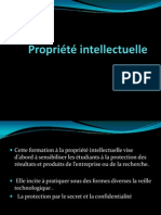 Propriete intellectuelle