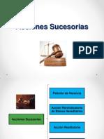 Acciones sucesorias