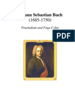 Bach - Praeludium and Fuga C-Dur