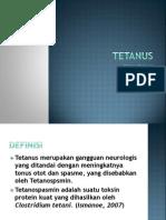 Tetanus Ppt Dini DONE