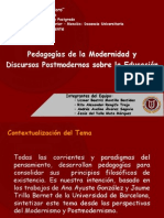 pedagogiasdelamodernidadypostmodernidad-120414094031-phpapp02