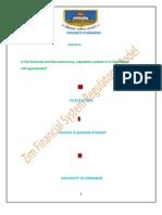Regulation of Financial System