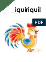 Quiquiriqui - Booklet