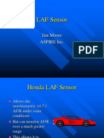 Honda o2 Sensor Training
