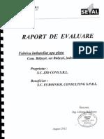 Raport Evaluare Zid Cons