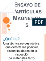 Ensayo de Partículas Magnéticas