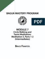 3 Circle Walking and Taoist Meditation - Intermediate Meditation 5, Part 1-2