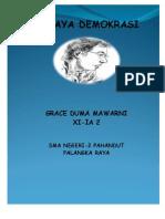 Karya Tulis Demokrasi By Grace Duma
