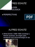 Schutz y La Fenomenologia