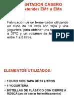 Nutribiota.net a Urederra EM Fermentador Casero