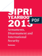 SIPRI Yearbook 2013 Summary
