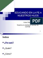 EDUCACIÓN RELIGIOSA DE LOS HIJOS