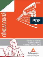 Caderno de Atividades Impressao Cco1 Desenvolvimento Pessoal e Profissional