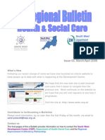 South West e-Bulletin Issue 03, March/April 2009