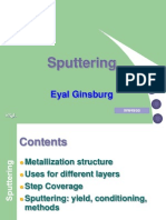 What is Sputtering | Sputtering | Thin Film