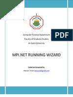 MPI.NET RUNNING WIZARD