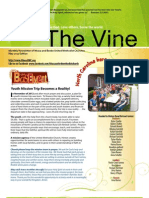 June 2013 Newsletter the Vine