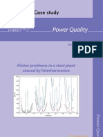 Case Studies Flicker Problems in Steel Plant Caused by Interharmonics
