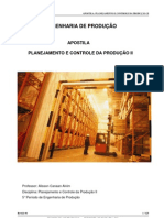 Apostila - Planejamento e Controle da Produção II