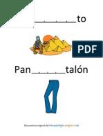 Actividad fonemas trabantes