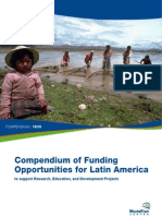 Funding Opportunities in LatinAmerica