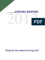 2013 Bespoke Report
