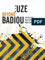Deleuze Beyond Badiou Ontology Multiplicity and Event