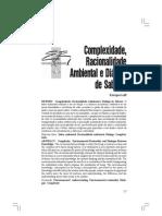 Complexidade Racionalidade e Saber Ambiental UFRGS