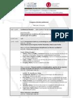 Programa Provisorio Ponencias ALED