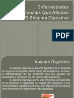 Enfermedades Ocupacionales Sistema Digestivo