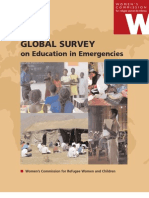 Global Survey on Education in Emergencies