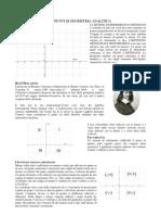 Appunti Di Geometria Analitica