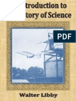 An Introduction to the History of Science - Walter Libby, Carnegie (1917)