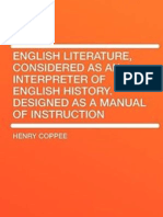 English Literature as an Interpreter of English History, Manual of Instruction - Henry Coppee (1873)