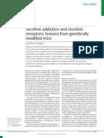 Changeux Et Al - Nicotine Receptors & Addiction, Genetically Modified Mice