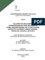 Informe de Tesis Del 2013