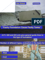 16. Tank Foundation