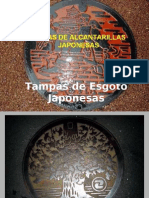 Tampas de esgoto do Japão