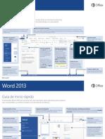 Guía Rápida Word 2013