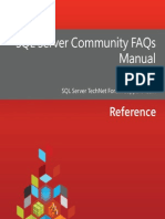 SQL Server Community FAQs Manual