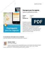 Foursquare Para Los Negocios