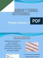 HILOS RUSOS Y TOXINA BOTULINICA.pptx