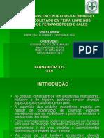 Microrganismos Encontrados Em Dinheiro Brasileiro