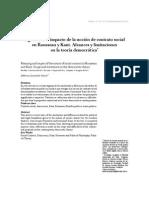 Artículo significado e impacto de la categoría de contrato social