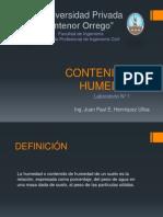 Lab N°1-Cont. Humedad